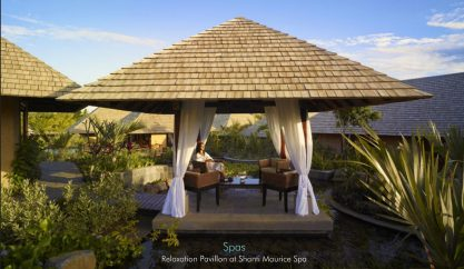 Relaxation Pavillon at Shanti Maurice