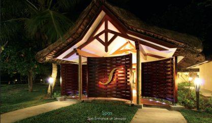 Spa Entrance at Lemuria